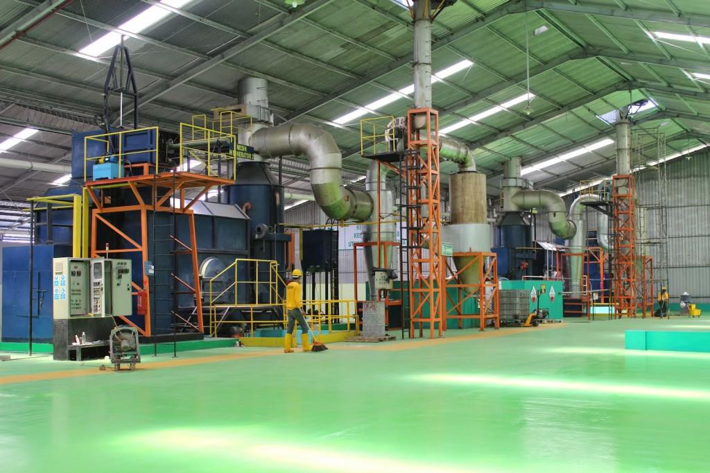 Solid Waste Treatment Pt Centra Rekayasa Enviro